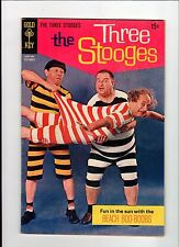 Gold Key THE THREE STOOGES #44 1969 VG Vintage Comic