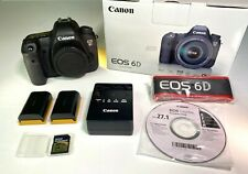 Canon Eos 6D Digital Slr Camera 20.2 Mp + Extras. Excellent Shutter count 733