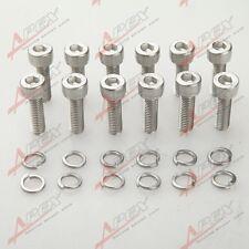 LS1 HEADER BOLTS STAINLESS STEEL FOR LSX LS2 LS3 LS6 LS7 GM VORTEC  5.3 6.0 6.2L