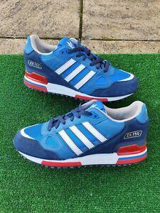 Genuine Adidas Originals ZX 750 Size UK 7 EU 40 Royal Blue Retro VTG MOD Footbal