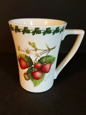 Portmeirion  STRAWBERRY FAIR Mandarin Mug Made in Great Britain coffee mug cup