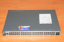 HP ProCurve J9729A 2920-48G-PoE Switch w/ Rank Mounts 6MthWty TaxInv