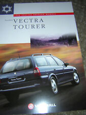 ORIGINAL VAUXHALL VECTRA TOURER SALES BROCHURE 1997