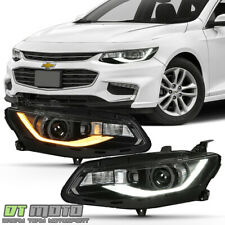 2016-2018 Chevy Malibu LED DRL Switchback Sequential Signal Projector Headlights