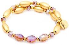 Chrysalis Wrap Fire Purple Bangle Bracelet
