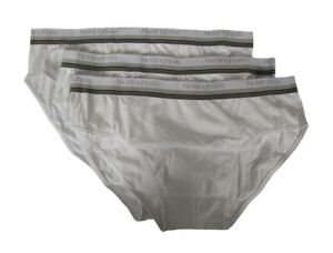 Pack of 3 men's bielastic cotton briefs NOTTINGHAM article ELA-3402 MEDIUM ELAST