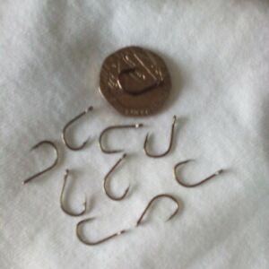 Fishing hooks 10 size 8  eyed barb. brand new