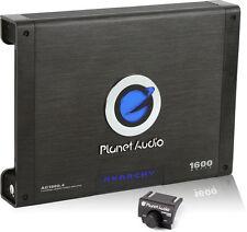 NEW PLANET AUDIO 1600W Anarchy 4-Channel Car Amplifier + Bass Remote! | AC1600.4