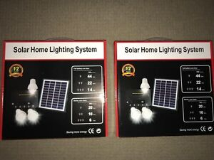 Solar Lights Kits (2) for Shed/Garage. Great Kits Free Post Aust Stock.