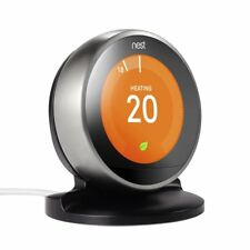 Nest Thermostat Stand Holder for Nest Learning Thermostat 3rd Generation(Black)