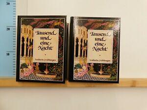 Tausend und eine Nacht arabische Erzählungen in 2 Bänden