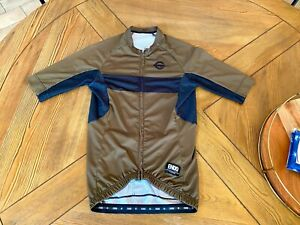Endo Customs SMALL Jersey Olive Green CNCPT Collection Short Sleeve Cycling Mens