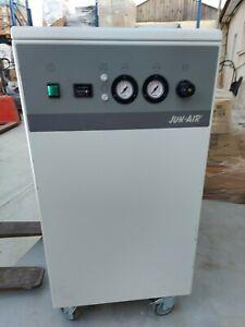 Jun Air OF302-25M Oil Less Rocking Piston Air Compressor Cabinet Unit