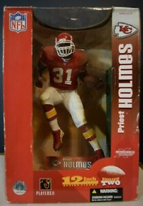 Priest Holmes NFL 12 Inch Action Figure Kanas City Chiefs by Players Inc