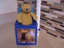 2005-2006  Disney Winnie the Pooh Pop Up  Jack-in-the-Box