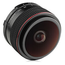 Opteka 6.5mm f/2 HD MC Manual Fisheye Lens for Canon EF-M M100 M10 M6 M5 M3 M2