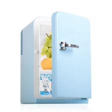15L Car Home Mini Fridge Themoelectronic Portable Cooler Heater Camping 12V Blue