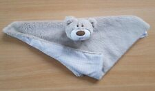 Mothercare - Teddy Bear Baby Comforter Blanket - Soft PlushToy - Beige / Brown
