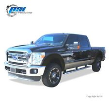 BLACK TEXTURED OE Style Fender Flares 11-16 Ford F-250, F-350 Super Duty