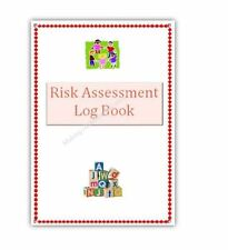 Childminder Risk Assessment Log Book Childminding resources, readymade