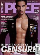 Pref Magazine #42 gay men fashion - NAS DE COUEUR
