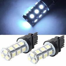2X 3156 5050 18-LED 7000K White RV Camper Headlight Light Backup Reverse Bulbs