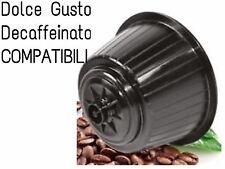 48 CAPSULE CAFFE' DECAFFEINATO COMPATIBILI DOLCE GUSTO