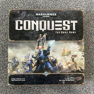 Warhammer 40,000 / 40K Conquest The Card Game Core Set - Excellent Condition