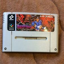 Super Famicom Video Game Castle Vania Cartridge CASTLEVANIA-AKUMAJO-DRACULA