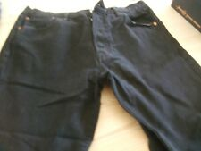 LEVI MEN'S BLACK  jeans 34 waist 30 leg USED, STILL IN GOOD CONDITION