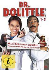 DR DOLITTLE Teil 1 2 3 4 5 Kyla Pratt EDDIE MURPHY 5 DVD Box Doctor Collection
