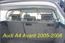 Filet Grille de séparation coffre pour AUDI A4 Avant, transport chiens et bagage
