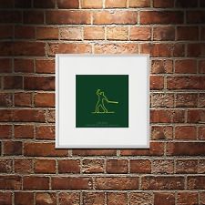 Contemporary Golf Art - Tiger Woods The Masters