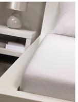 3x Bassetti Spannbettlaken 90x200 Bettlaken Bettwäsche NEU OVP weiss premium