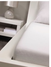 Bassetti Spannbettlaken 90x200 Bettlaken Bett Schlafen Jersey NEU OVP weiss