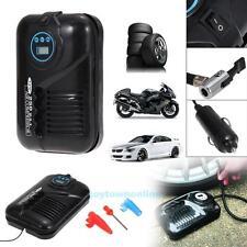12V 10A Travel Portable Digital DC Electric Air Compressor 250PSI Car Tyre Pump