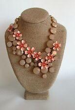J. Crew WATER LILY NECKLACE ~ G3336 ~Shell Pink~ NWT