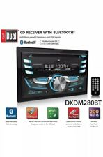 Dual Electronics DXDM280BT Multimedia LCD High Resolution Double DIN Car Stereo