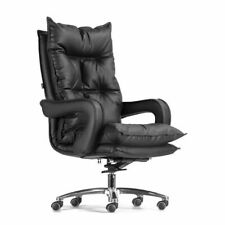 Leather Office Executive Chair Seat Home Business Rotatable Soft Comfy Stool New