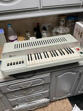 More details for vintage electric audition 2437 electric reed organ musical keyboard instrument