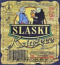 Poland Brewery Lwówek Śląski Książęce Beer Label Bieretikett Cerveza ls130.6