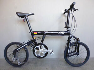 Riese & Müller Birdy BD-1 / Used folding bike / Black color