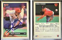 Rheal Cormier Signed 1993 Donruss #228 Card St. Louis Cardinals Auto Autograph