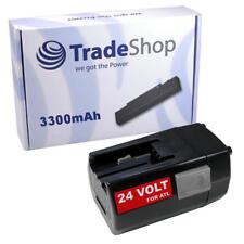 Batería 24v 3300mah para AEG milwaukee bxl24 bxs24 mxl24 sh04 mxs24