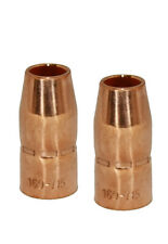 "Trafimet (169715) 2pcs/pk Gas Nozzle 1/2"", Mig Miller M10/15 MC0490"