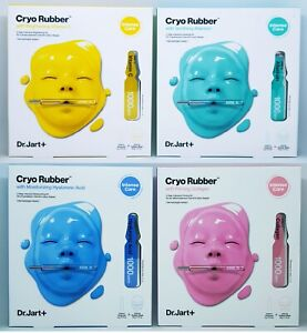 Dr.Jart+ Cryo Rubber with 4 Type Mask Moisturizing Firming Brightening Soothing