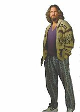 THE BIG LEBOWSKI DUDE JEFF BRIDGES LIFESIZE CARDBOARD STANDUP STANDEE CUTOUT NEW