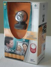 Logitech QuickCam IM Connect (961459-0403) Web Cam Micro Phone Headset NEW