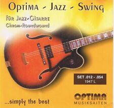 Optima/Maxima Chrome Roundwound Strings 1947L 12-54