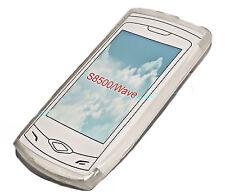 Silikon TPU Handy Cover Case Hülle Schale Schutz für Samsung S8500 Wave in Foggy